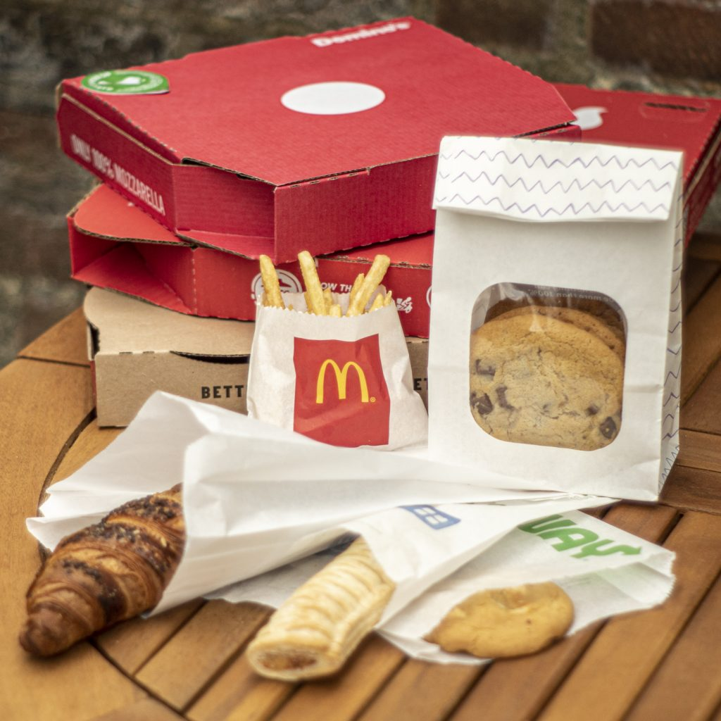 Study reveals 'forever chemicals' in disposable food packaging from UK high street retailers