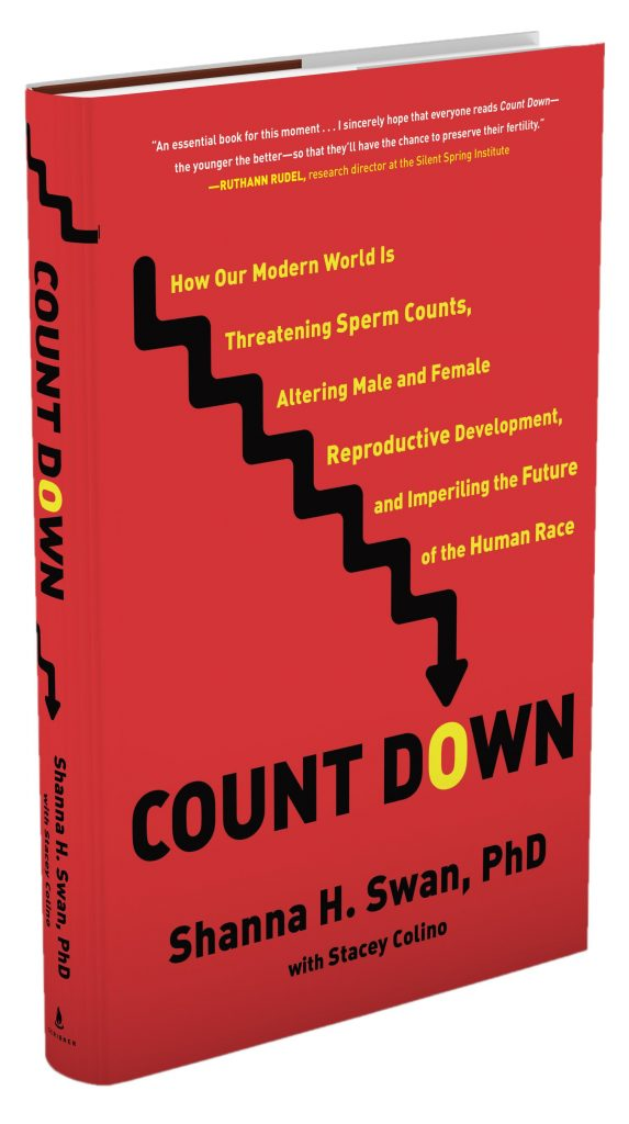 New book 'Count Down' highlights the threat that harmful chemicals pose to fertility and reproductive development