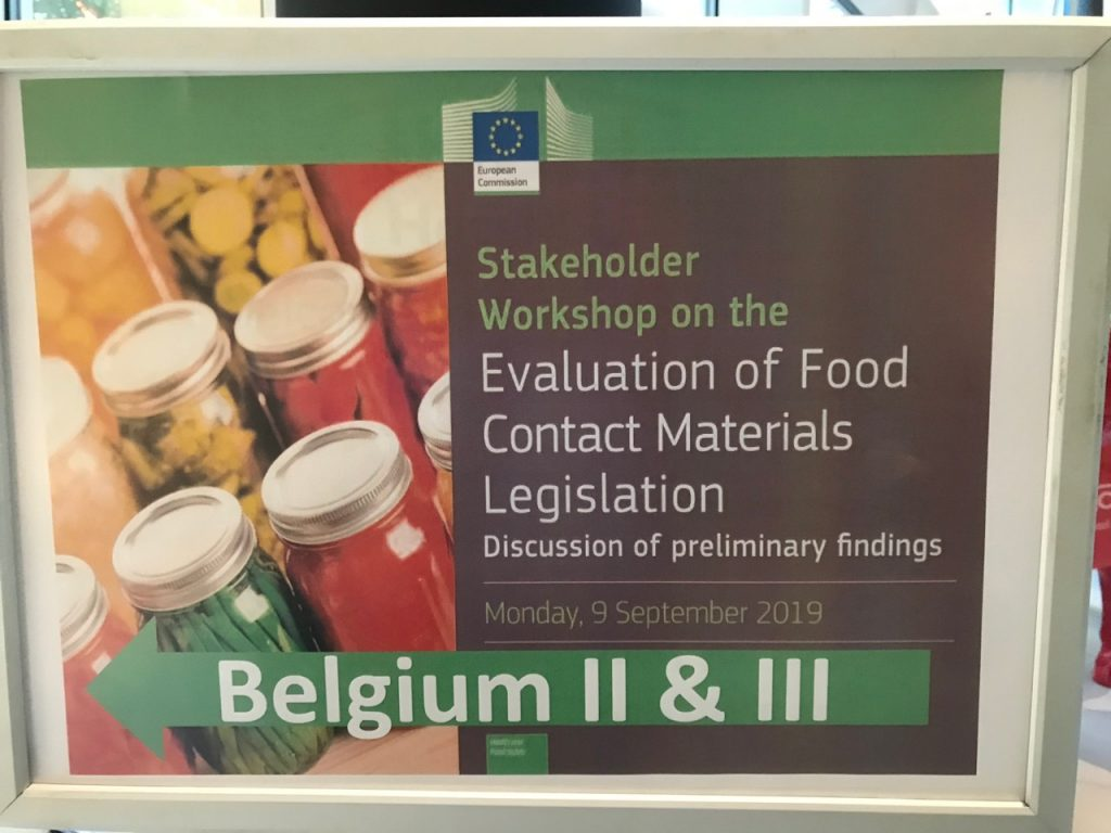 "All stakeholders call for new EU laws on chemicals in food packaging, yet new Commission President proposes ""one in one out"" rule"